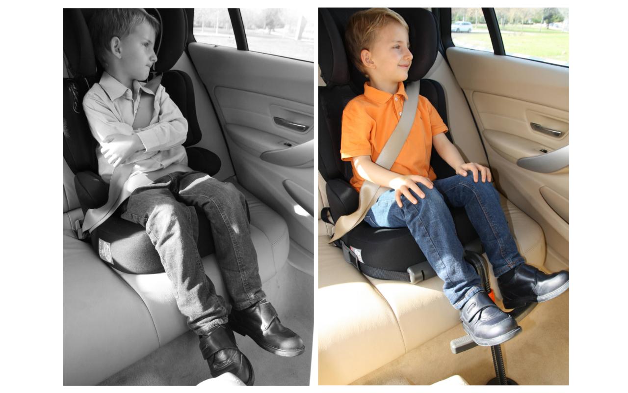 FootupR Car Seat Footrest